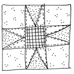 quilt block doodle 4