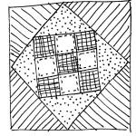quilt block doodle 6
