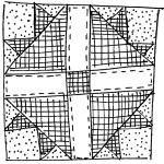 quilt block doodle 1