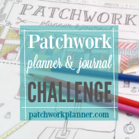 patchwork planner and journal challenge 200