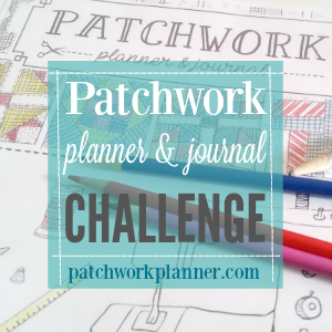 patchwork planner and journal challenge