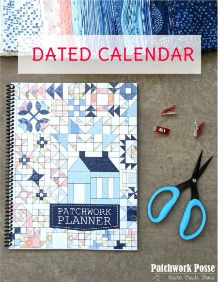 Patchwork Panner 2021 with dates COVER IMAGE